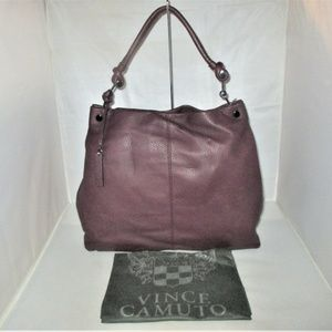 Vince Camuto Ruell Leather Hobo Bag